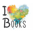 Look, A Book! - I Heart Books Word Art