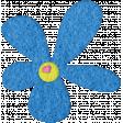 Good Day - Felt Flower Doodle 1