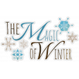 Woodland Winter - Magic of Winter Word Art