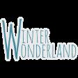 Woodland Winter - Winter Wonderland Word Art