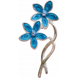 Reflections of Strength - Flower Brooch