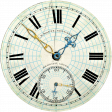 Reflections of Strength - Clock