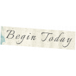 Reflections of Strength - Unshadowed Begin Today Word Art