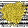 Reflections of Strength - Yellow Glitter Splatter