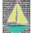 Summer Splash - Boat Doodle