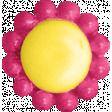 Summer Splash - Flower Button