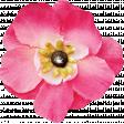 Summer Splash - Pink Fabric Flower