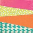Summer Splash - Diagonal Patchwork Paper