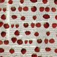 Strawberry Fields -  Newsprint 3 Paper