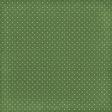 Strawberry Fields - Dark Green Dots Paper