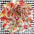 Strawberry Fields - Fabric Flower
