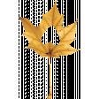Thankfull Heart - Leaf - Yellow 1