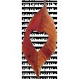 Thankful Heart - Leaf - Red #4