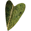 Falling For You - Green Leaf Heart 2