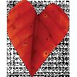 Falling For You - Orange Leaf Heart 2