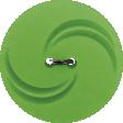 Let's Get Festive - Light Green Swirl Button