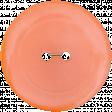 Let's Get Festive - Light Orange Button