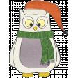 Let's Get Festive - Owl Doodle