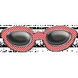 Let's Get Festive - Red Dot Doodle Sunglasses
