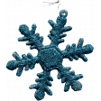 Let's Get Festive - Blue Snow Flake