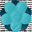 Let's Get Festive - Blue Flower