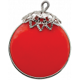 Let's Get Festive - Red and Silver Charm