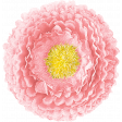 Let's Get Festive - Pink Fabric Flower