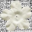 Let's Get Festive - White Silk Flower