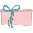 Let's Get Festive - Gift Doodle 4 - Pink and Blue