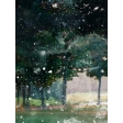 Golf Course Trees 3x4 Card