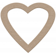Reflections Chipboard Heart