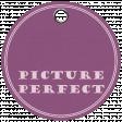 Friendship Day - Purple Circle Tag