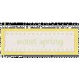 Sweet Spring - Word Tag