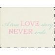 Shabby Wedding - Journal Card 8