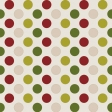 Classic Christmas - Big Dots Paper 2
