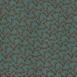 Shelter Pet Paw Print Paper Turquoise And Brown