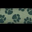 Shelter Pet Turquoise Paw Print Ribbon
