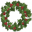 Home For The Holidays - Wreath Element