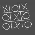 Kids Ahead - Chalk Tic Tac Toe Element