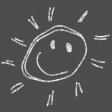 Kids Ahead - Chalk Sun Element