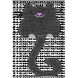 Oh Kitty Kitty - Stitched Burlap Layered Kitty Template 3