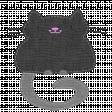 Oh Kitty Kitty - Stitched Burlap Layered Kitty Template 1