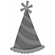 Birthday Bash - Layered Party Hat Template