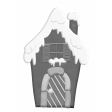 Christmas Gingerbread House Element Template