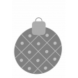 Christmas Ornament Element Template 2