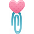 Love Monster - Heart Clip Element