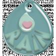 Umbrella Weather - Tiny Blue Tag