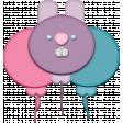 Easter - Bunny Balloon Element