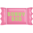 Easter - Pink Bunny Candy Bar Element