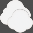 Easter - Spring Clouds Element